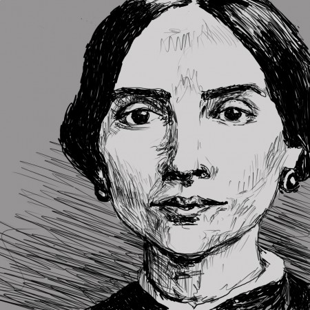 Portrait of Emily Dickinson