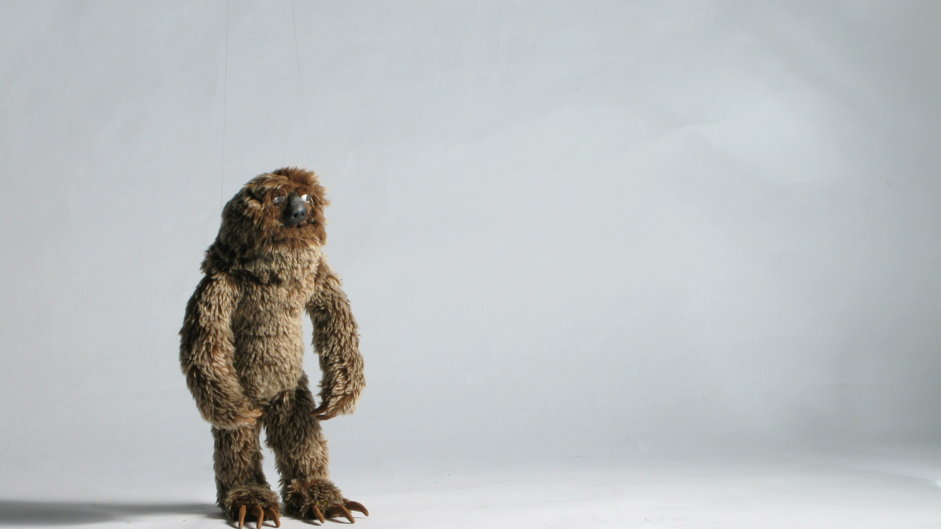Sloth Stop Motion Puppet