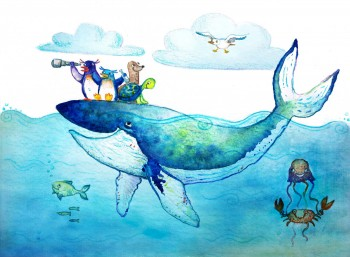 Sea_Adventuare_Childrens_Book_Illustration